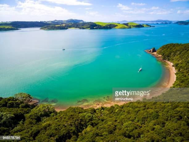 bay of islands - whangarei heads stock pictures, royalty-free photos & images