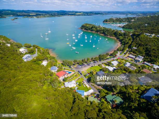 bay of islands  - whangarei heads stock-fotos und bilder