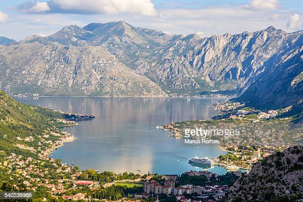 Bay of Kotor and Kotor city