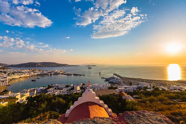 Bay of Mykonos, Greece