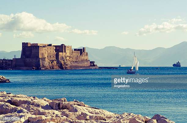 Bay of Naples, dell'Ovo Castle and Sea
