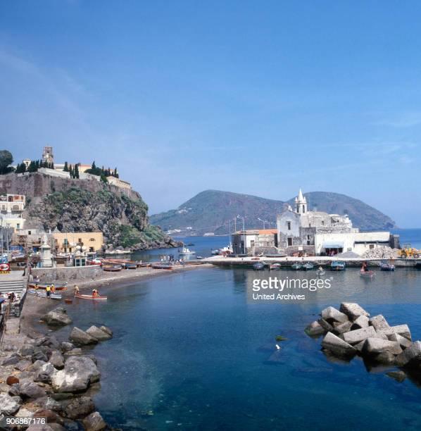 Bay of Sardinia in Italy 1980s