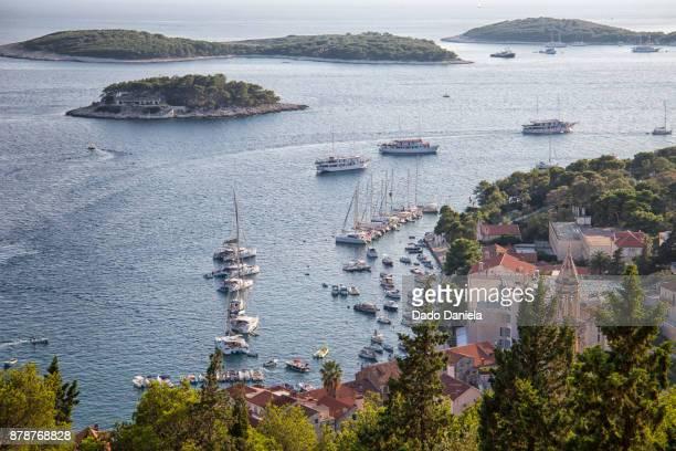 Bay of Town Hvar