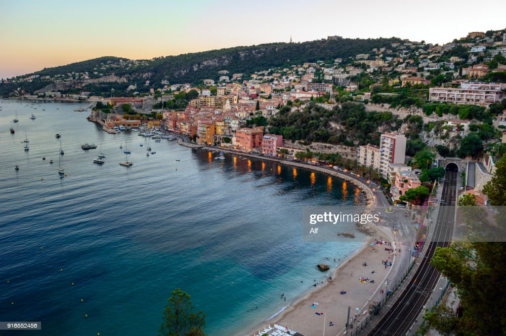 Bay of Villefranche sur Mer, Cote d'Azur, French Riviera, France : Photo