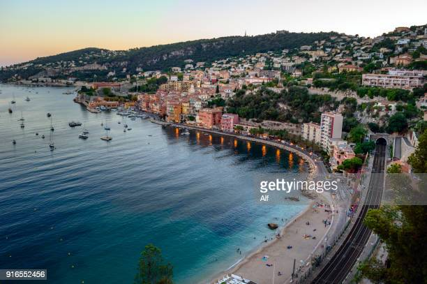 Bay of Villefranche sur Mer, Cote d'Azur, French Riviera, France