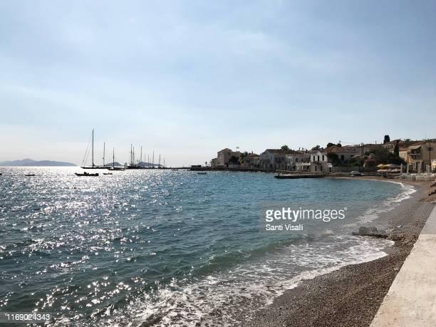 Bay on June 30, 2019 in Spetses, Greece.