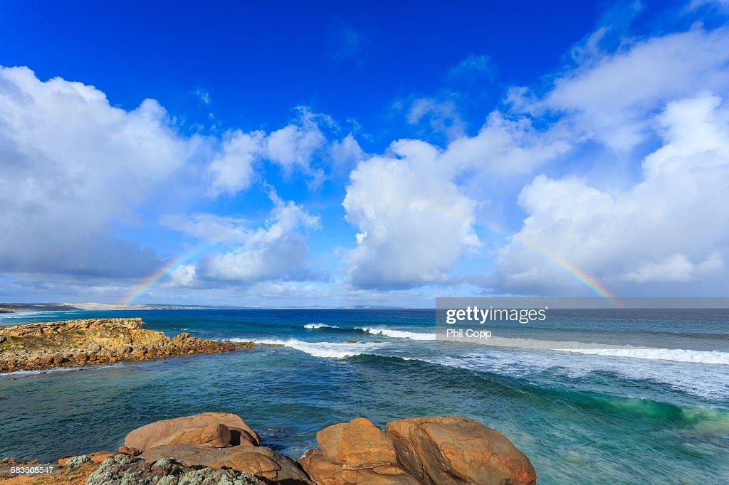 Bay rainbow : Stock Photo