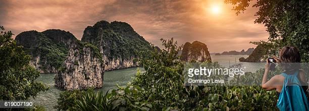 Bay Tu Long in Vietnam
