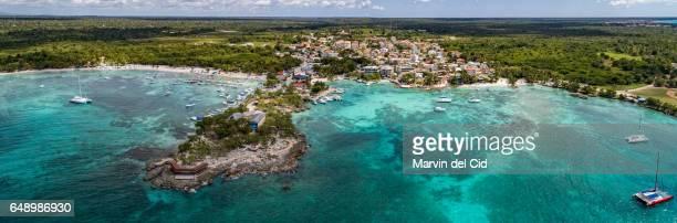 Bayahibe aerial panorama
