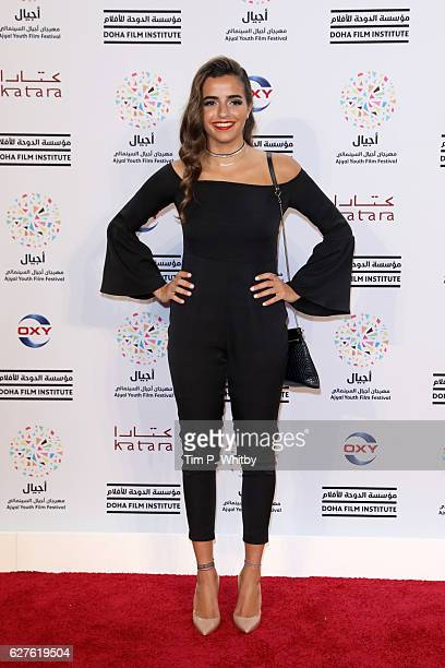 Bayan Dahdah attends the premiere of 'Made in Qatar' during the Ajyal Youth Film Festival on December 1 2016 in Doha Qatar
