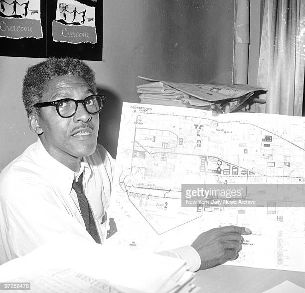 Bayard Rustin deputy director of the March on Washington