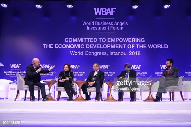 Baybars Altuntas chairman of the World Business Angels Investment Forum Renata Brkic founder of the Feelsgood Social Impact Investment Fund Paul...