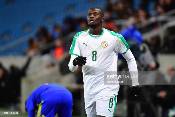 M'Baye Niang of Senegal during the international friendly match match between Senegal and Bosnia Herzegovina on March 27 2018 in Le Havre France