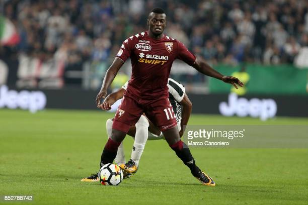 Baye Niang of Torino FC in action during the Serie A football match between Juventus Fc and Torino Fc Juventus won the game 4 goals to nil