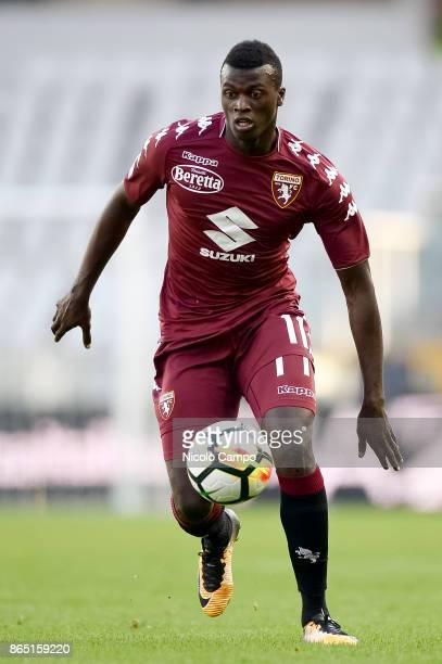 Baye Niang of Torino FC in action during the Serie A football match between Torino FC and AS Roma AS Roma won 10 over Torino FC
