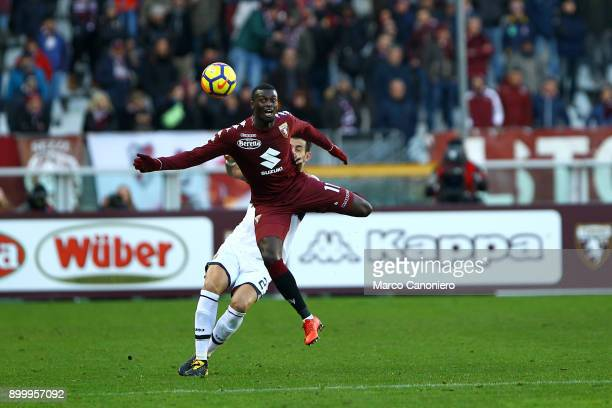 Baye Niang of Torino FC in action during the Serie A football match between Torino Fc and Genoa Cfc