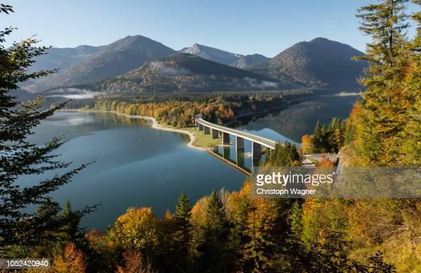 bayerische alpen - großer ahornboden - mittenwald stock pictures, royalty-free photos & images