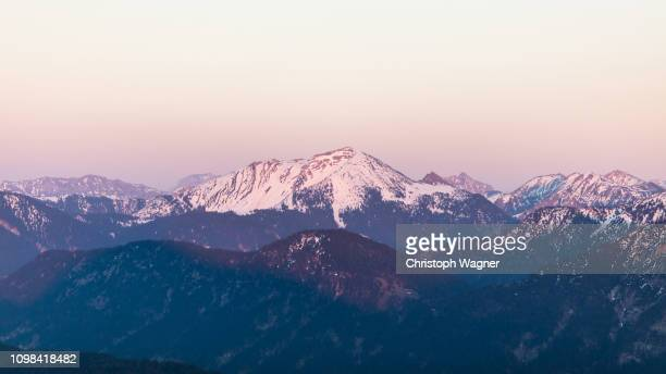 bayerische alpen - karwendel - bavarian alps stock pictures, royalty-free photos & images