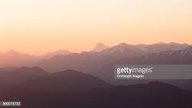 bayerische alpen - bavarian alps stock pictures, royalty-free photos & images