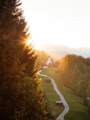 Bayerische Alpen - Wamberg - gettyimageskorea
