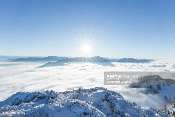 bayerische alpen - wendelstein - sorglos stock pictures, royalty-free photos & images