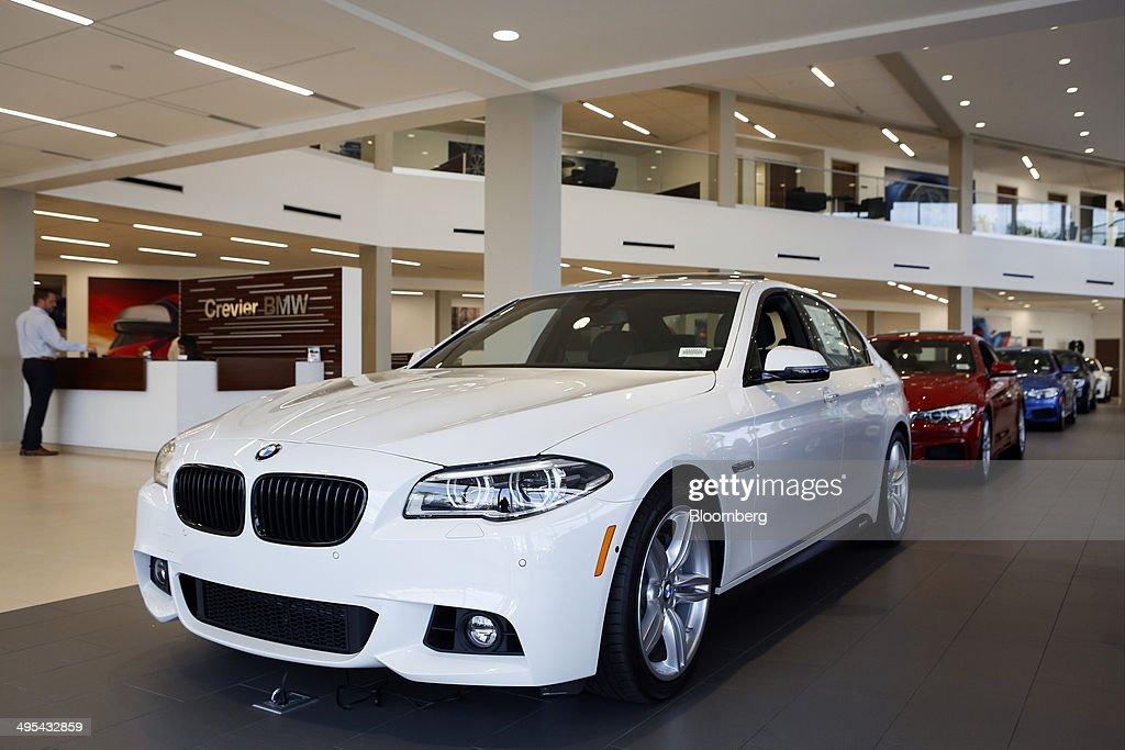 A BMW Dealership Ahead Of Vehicle Sales Figures : News Photo