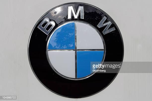 A Bayerische Motoren Werke AG logo is seen in Munich Germany on Friday Sept 3 2010 Bayerische Motoren Werke AG the world's largest maker of luxury...