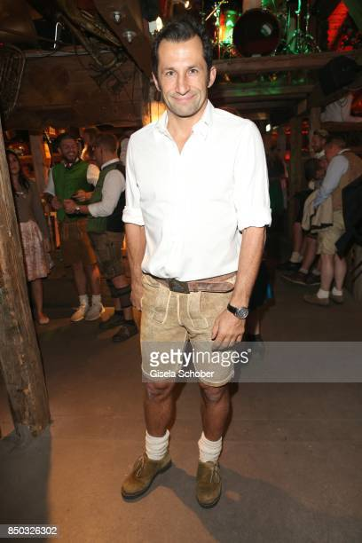 Bayern aport director Hasan Salihamidzic during the Oktoberfest at Theresienwiese on September 20, 2017 in Munich, Germany.