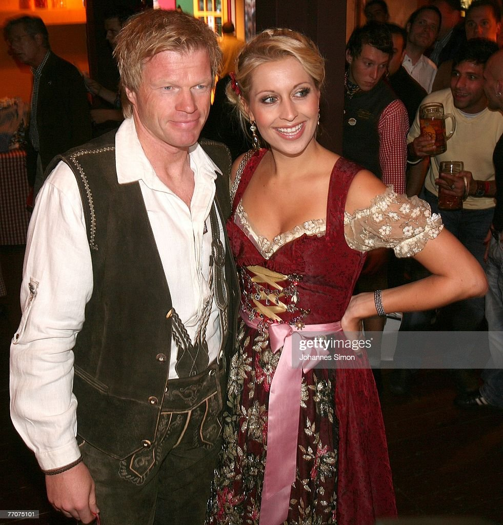 FC Bayern goalkeeper Oliver Kahn (L) and his girlfriend Verena Kehrt attend the Bild  sc 1 st  Getty Images & Celebrities At The Oktoberfest Day 5 Photos and Images | Getty Images