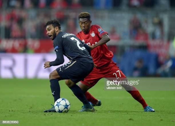 FUSSBALL FC Bayern Muenchen Dinamo Zagreb El Arabi Hilal Soudani gegen David Alaba