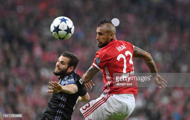 Bayern Muenchen Real Madrid Nacho gegen Arturo Vidal