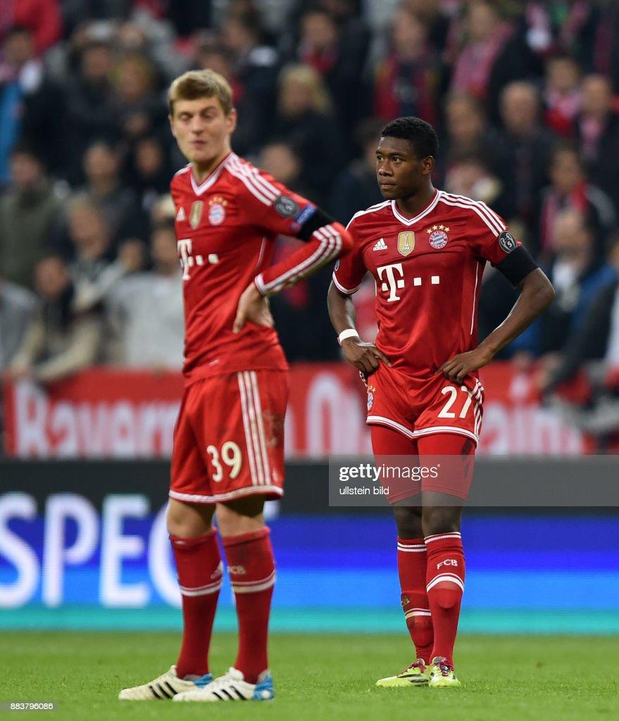 Bayern Muenchen - Real Madrid Toni Kroos und David Alaba sind nach... Foto  di attualità - Getty Images