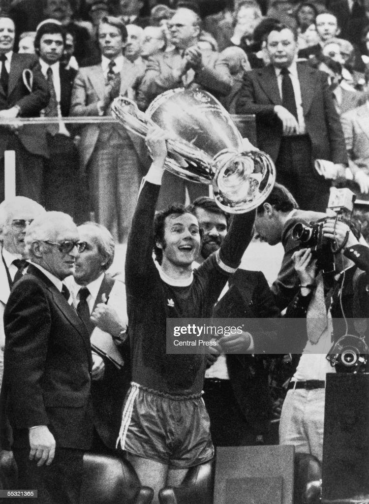 Victorious Beckenbauer : News Photo