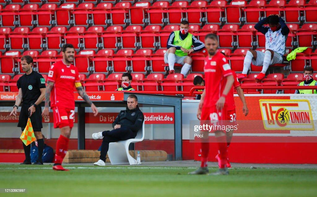 1. FC Union Berlin v FC Bayern Muenchen - Bundesliga : Foto di attualità