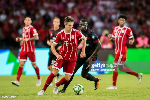 Bayern Munich Defender Marco Friedl in action during the 2017 International Champions Cup China match between FC Bayern and AC Milan at Universiade...