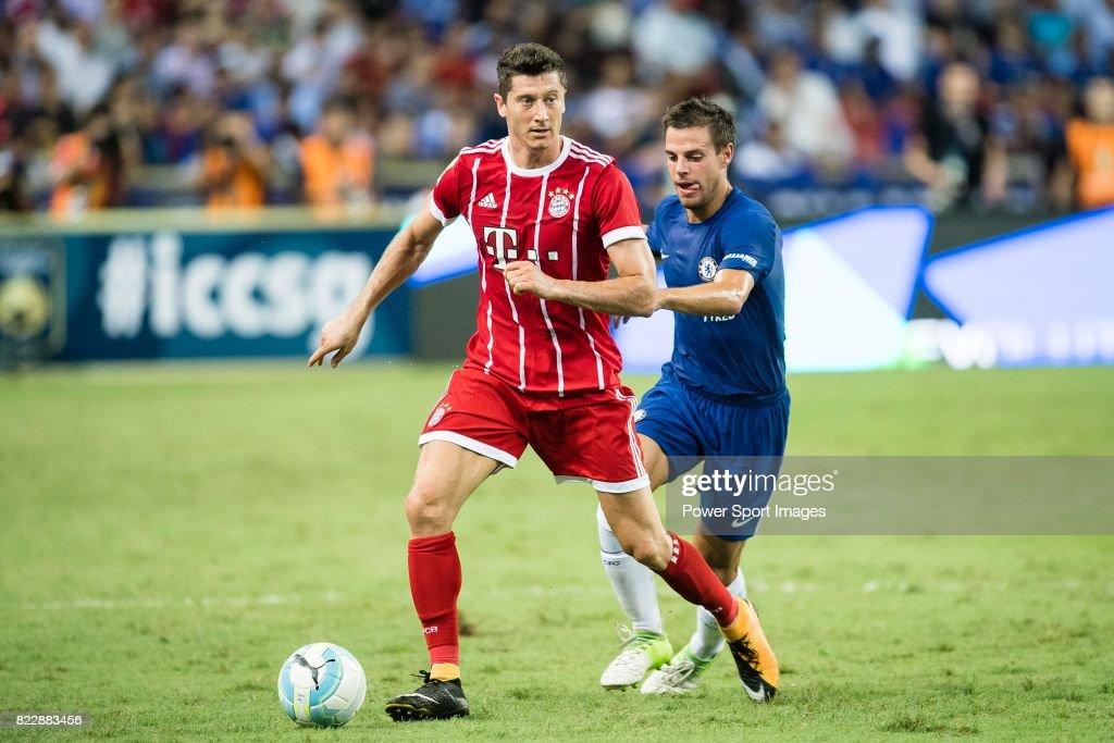 ICC Singapore - Chelsea v Bayern : News Photo