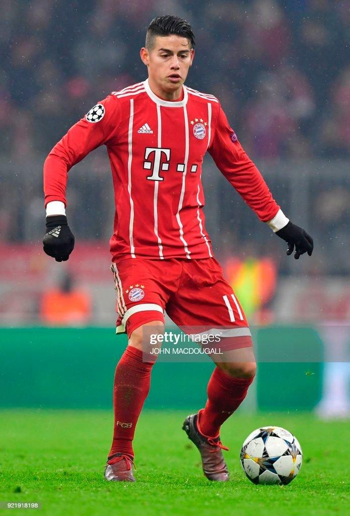James Rodriguez vom FC Bayern München