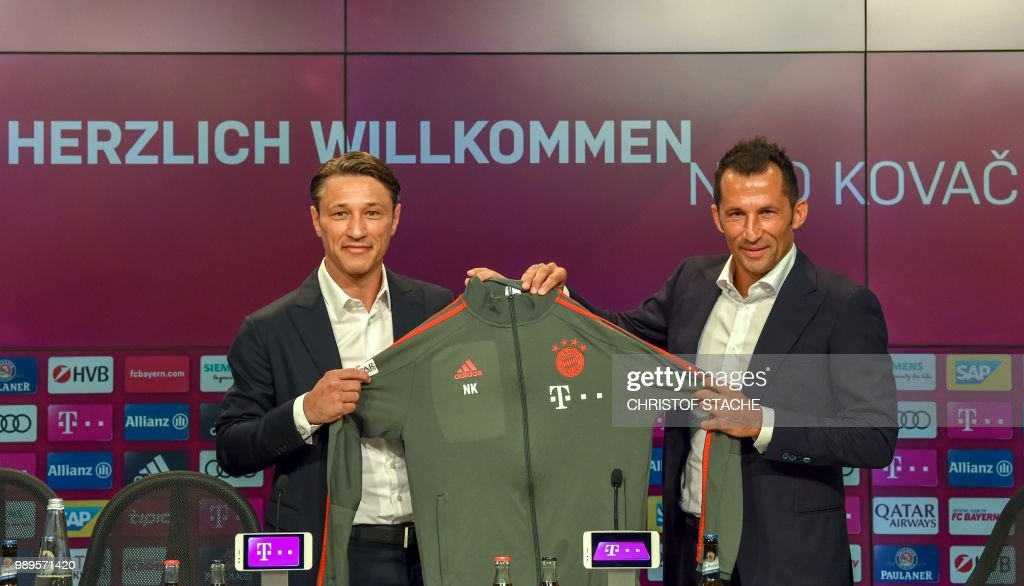 FBL-GER-BUNDESLIGA-BAYERN MUNICH-KOVAC : News Photo