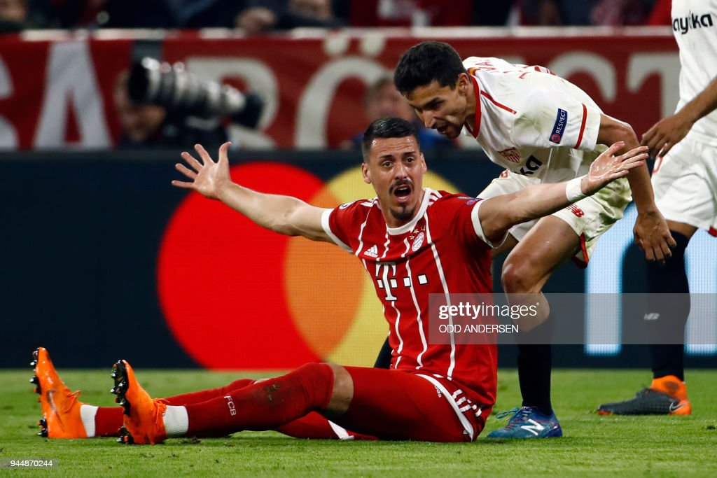 Bayern Muenchen v Sevilla FC - UEFA Champions League Quarter Final Second Leg