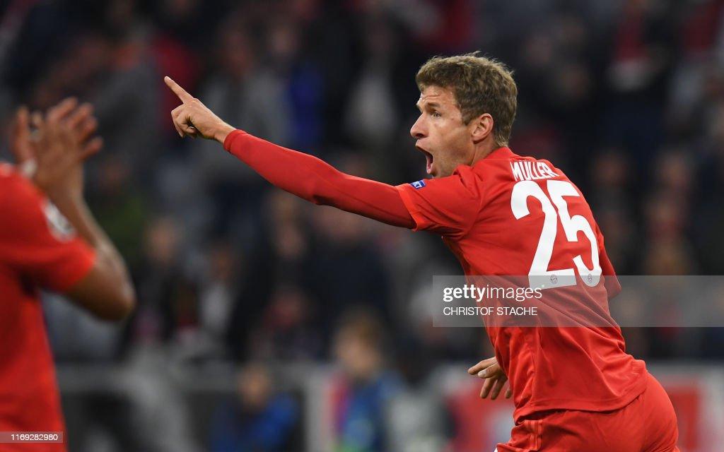 FBL-EUR-C1-BAYERN MUNICH-RED STAR BELGRADE-PRESSER : News Photo