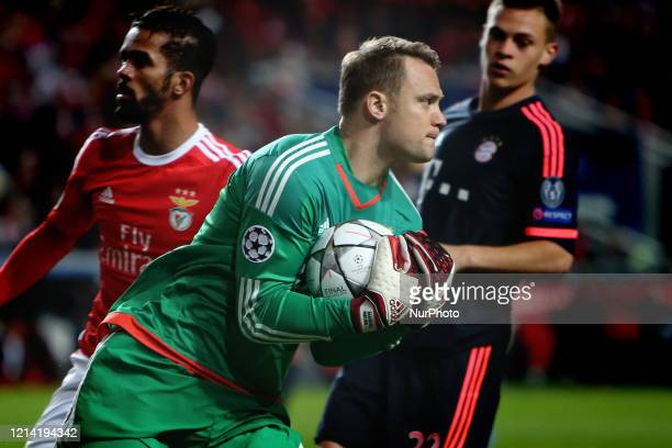 Bayern Munich's German goalkeeper Manuel Neuer has extended his contract with the club until 30 June 2023 it was announced in Munich Germany on May...