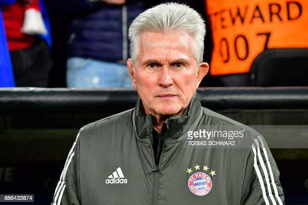 Bayern Munich's German head coach Jupp Heynckes is pictured prior to the UEFA Champions League football match of Bayern Munich vs Paris SaintGermain...