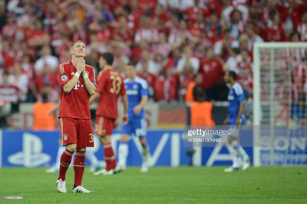Bayern Munich's German midfielder Bastia : News Photo