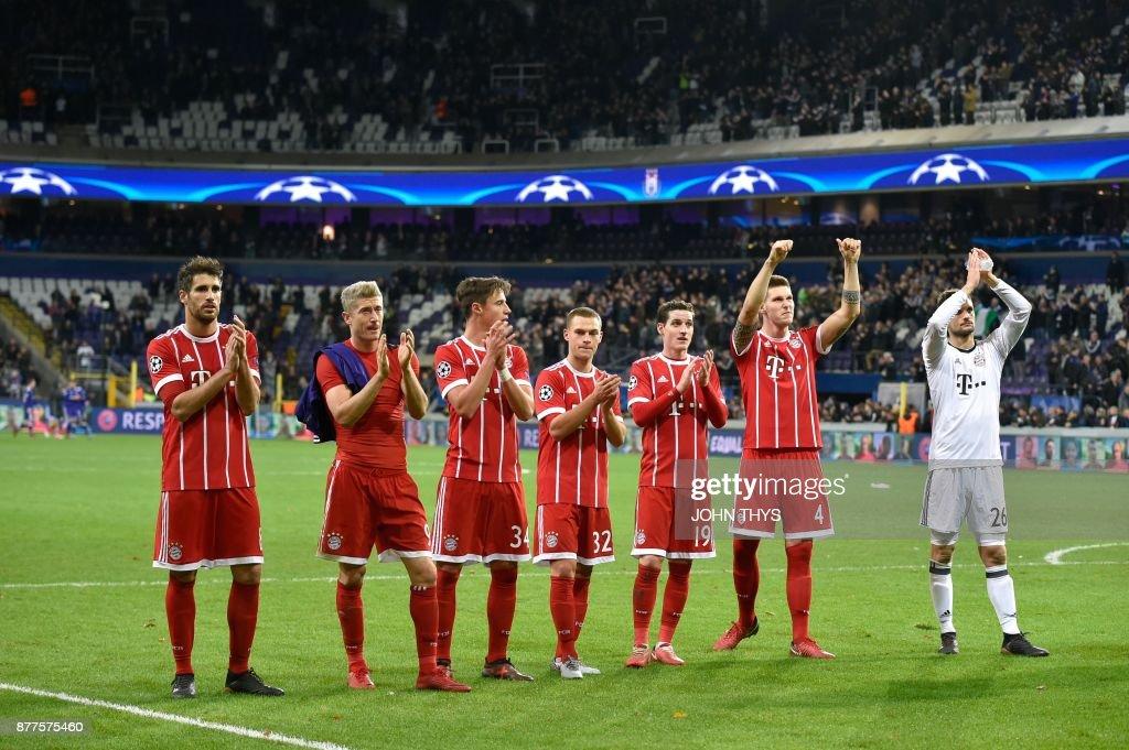 FBL-EUR-C1-ANDERLECHT-BAYERN : News Photo