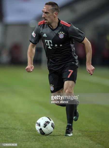 Bayern's Franck Ribery in action during the Telekom Cup soccer match between Fortuna Duesseldorf and Bayern Munich in the ESPRITarena in Duesseldorf...