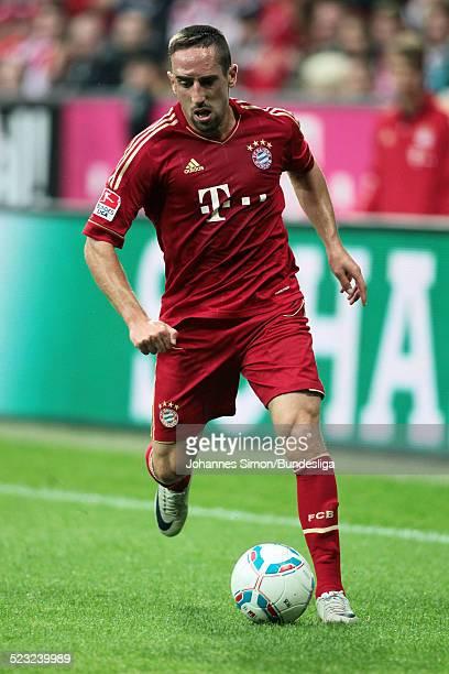 Bayern-Spieler Franck Ribery im Einsatz beim Bundesliga Spiel zwischen dem FC Bayern Muenchen und Borussia Moenchengladbach am in der Muenchner...