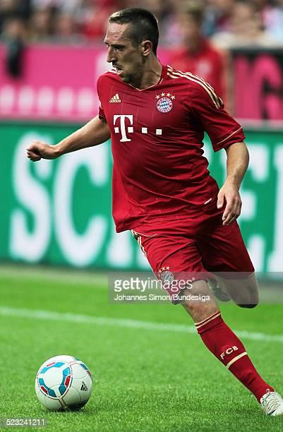BayernSpieler Franck Ribery im Einsatz beim Bundesliga Spiel zwischen dem FC Bayern Muenchen und Borussia Moenchengladbach am in der Muenchner...