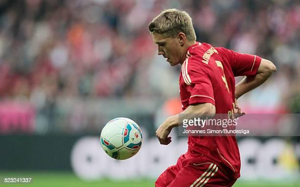 BayernSpieler Nils Petersen im Einsatz beim BundesligaSpiel zwischen dem FC Bayern Muenchen und Borussia Moenchengladbach am in der Muenchner...