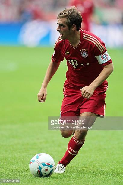 Bayern-Spieler Philipp Lahm im Einsatz beim Bundesliga Spiel zwischen dem FC Bayern Muenchen und Borussia Moenchengladbach am in der Muenchner...