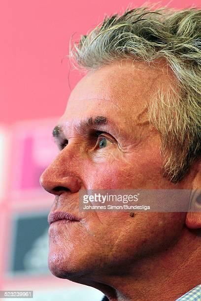 Bayern-Trainer Jupp Heynckes besucht nach dem Bundesliga Spiel zwischen dem FC Bayern Muenchen und Borussia Moenchengladbach am in der Muenchner...